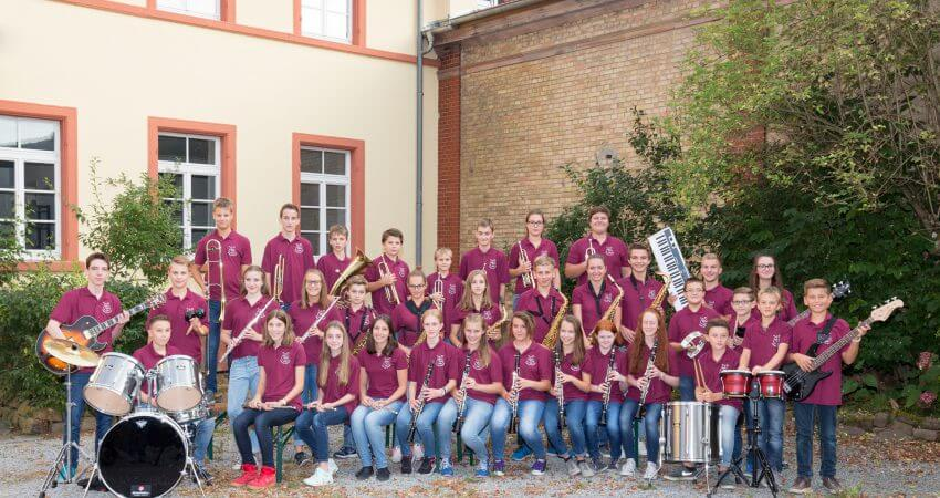 Musikverein Wiesenbach Jugendkapelle im Gutshof Langenzell