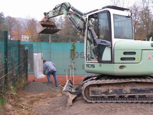 2007 - 11 | Aushub Vereinsheim