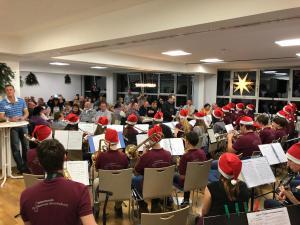 2017 - 12 - 16 | Weihnachtsfeier der Jugendkapelle