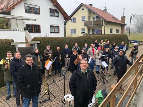 2020 - 01 - 26 | Ständchen Hr. Berberich